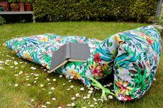 Gartenliege nähen DIY Freebook