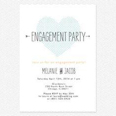 15 Best Engagement Invites images | Engagement, Engagement ...