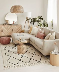 Room Interior, Interior Design Living Room, Living Room Designs, Interior Livingroom, Apartment Interior, Boho Living Room, Living Room Decor, Bedroom Decor, Beige Living Rooms