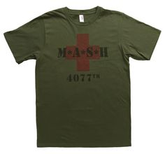 Mash 4077 Military Green T-Shirt