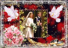 Wat een schitterend Bruidspaar (NL) gemaakt door Ria L