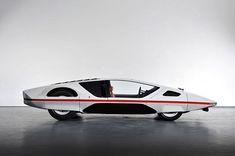 Back to the Future: Concept Cars of the Past - 1970 Ferrari Modulo — Rath Auto Connect Ferrari, Electric Pickup, Futuristic Motorcycle, Futuristic Cars, Geneva Motor Show, Back To The Future, Car In The World, Car Parts, Car Show