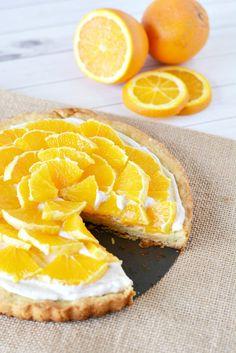 Orange Clove Tart Recipe
