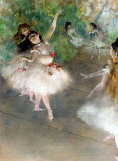 Edgar Degas, one of my favorite painters. Tres jolie!