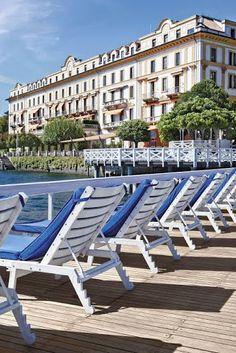 Villa d'Este Places To Travel, Places To Visit, Italy Destinations, Lake Como Italy, Empire Romain, Italian Lakes, Italian Villa, Lake Garda, Great Hotel