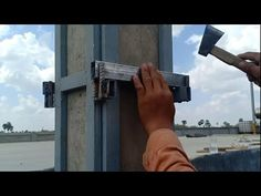 How to make a template របៀបធ្វើពុម្ពសសរ Grill Gate Design, Construction, Abs, Templates, Video, Youtube, How To Make, Drawing, Building