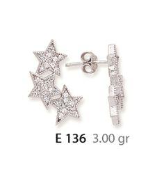 Silver Ear Rİng , Silver jewellery