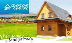 Víkendové chalupy pre 6 a 8 osôb Cabin, House Styles, Home Decor, Decoration Home, Room Decor, Cabins, Cottage, Home Interior Design, Wooden Houses