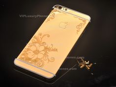 This particular IPhone 6 Plus real gold flower housing is created for the most demanding users using only top notch quality goods. Iphone 7 Gold, Iphone Upgrade, Iphone 6 Covers, Gold Flowers, Branding Design, Phone Cases, Luxury, Life, Corporate Design