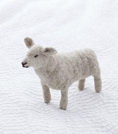 Needle Felted Sheep Tutorial