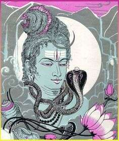 Sacred Ganga: The holiest of the holy rivers, Ganga flows from the matted hair of Shiva. According to a legend, Shiva allowed an outlet to the great river to traverse the earth and bring purifying water to human being. Ganga also denotes fertility - one of the creative aspects of the Rudra.