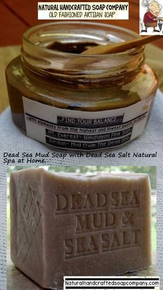 Shower Time! Just discovered NATURAL Sea mud with Sea Salt from the Dead Sea- I tried to not touch my face for two Weeks and use this natural handcrafted soap for 2 weeks and results was 60% better!  Dead Sea Mud - Sea Salt on the Clock Time! April  3 , 2018 . By John Harrison