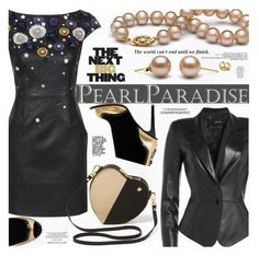 """""""Celebrate the New Year with PEARL PARADISE"""" by katjuncica ❤ liked on Polyvore featuring Unique, Kat Maconie, Jitrois, women's clothing, women's fashion, women, female, woman, misses and juniors"""