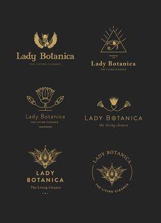 New In Portfolio: Lady Botanica Typography Logo, Logo Branding, Lettering, Business Branding, Web Design, Icon Design, Grafik Design, Graphic Design Typography, Identity Design
