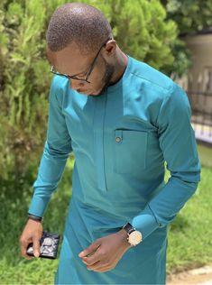 GenericMen Basic Style African Dashiki Round Neck Button Down Shirts