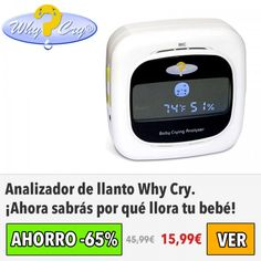 Analizador de llanto Why Cry. ¡SOLO 15€!
