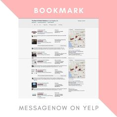 Find messageNOW on @yelpla your go to partner for Public Relations Digital Marketing and Branding. Bookmark and read client reviews. I look forward to seeing how my team and I can help you succeed by effectively reaching your audience. Whether you are a working professional looking to move up in the rankings or a business I help best refine your messages from online profiles to in person training and help get your message out. #getyourmessagenow