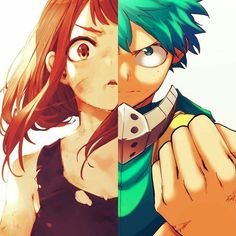Anime Couples Deku X Uraraka-my hero academia Boku No Hero Uraraka, Deku Boku No Hero, Manga Anime, Anime Kiss, Buko No Hero Academia, My Hero Academia Manga, Uraraka Cosplay, Deku X Uraraka, Anime Lindo