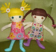 custom rag dolls
