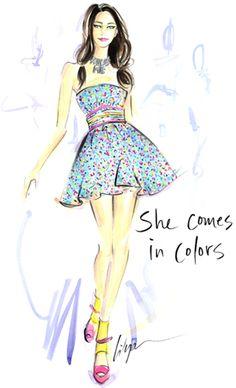 She Comes In Colors Jennifer Lilya
