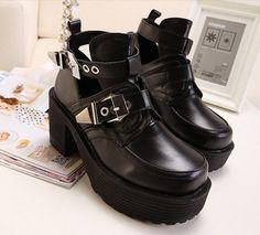 shoes it girl shop platform shoes cute pastel goth hippie grunge shoes instagram