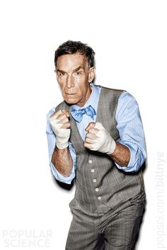 Bill Nye Fights Back       How a mild-mannered children's celebrity plans to save science in America—or go down swinging.