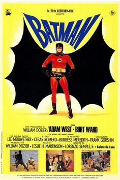 1966 Batman movie poster (Adam West)