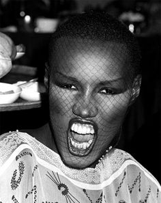 just found out grace jones is also a taurus. of course.