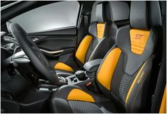 New Ford Focus ST interior, do you prefer your car interiors to be sporty or luxurious?