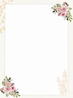 Decoracion Boda Vintage Home Colour Wedding Background Images, Flower Background Wallpaper, Framed Wallpaper, Background Vintage, Paper Background, Textured Background, Background Templates, Romantic Flowers, Vintage Flowers