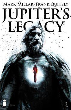 Jupiter's Legacy 2. Variant cover by Jock.