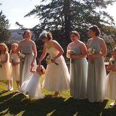 Images at Caer Llan on instagram Mint Bridesmaid Dresses, Wedding Dresses, Bridesmaids, Veil, Our Wedding, Wedding Flowers, Wedding Photos, Photo And Video, Instagram
