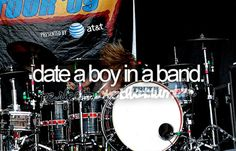 Not gonna happen unless my husband learns how to play an instrument lol, but it would be fun.