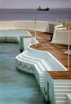Jubilee Pool, Penzance, Cornwall, UK.