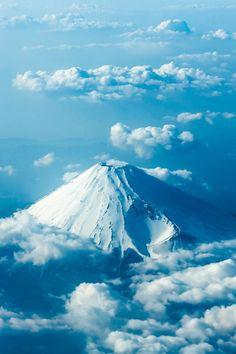 Mt. Fuji from the sky, toshio kawai