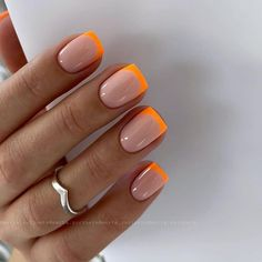 Easy to try nail trends, look here is enough - Page 35 of 140 - Inspiration Diary Summer Acrylic Nails, Cute Acrylic Nails, Neon Nails, Diy Nails, Swag Nails, Cute Nails, Pretty Nails, White Summer Nails, Pink Tip Nails