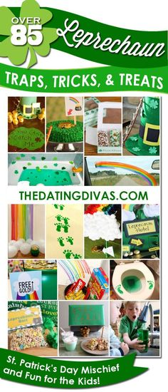 Fun + Easy DIY Projects for your kids on St. Patrick's Day!