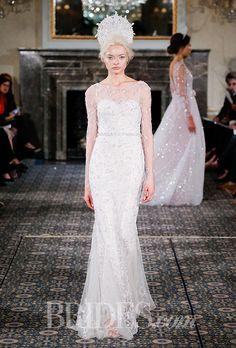 Brides: Mira Zwillinger Wedding Dresses - Spring 2016 - Bridal Runway Shows - Brides.com