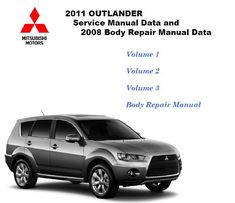 2008 mitsubishi outlander repair manual