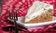 """A completely healthy dessert blog???? YEP!!! Eggnog """"Baby Spice"""" Cake, can't wait to try!"""