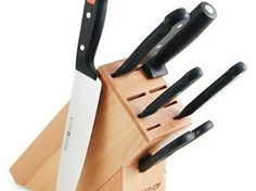 Wusthof Gourmet 7-Piece Knife Set with Block Reviews Sales Discount and Cheap Price