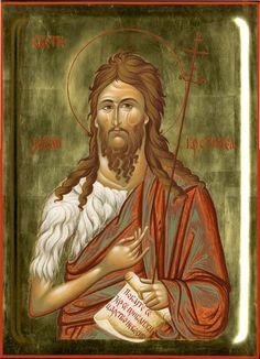 John the Baptist Roman Church, Religion, Byzantine Icons, Saint John, Archangel Michael, John The Baptist, Orthodox Icons, Patron Saints, Saints