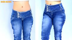 Sewing Jeans, Sewing Clothes, Diy Sewing Projects, Sewing Hacks, Sewing Case, Diy Fashion, Fashion Tips, Altering Clothes, Refashion
