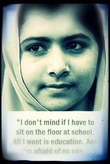 61 Best Malala Yousafzai Images Malala Yousafzai Quotes Nobel