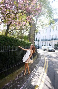 London has been transformed. All this warm weather has roused the trees from their winter slumber & blossom has burst all over the parks like wild popcorn. When the wind blows the streets disappear into little blossom snow drifts. It's a bit like being in Narnia, but y'know… with shopping & Starbucks. It's set to...  Read more