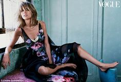 Stylish:Taylor Swift proves she's the ultimate fashionista while posing for the latest is...