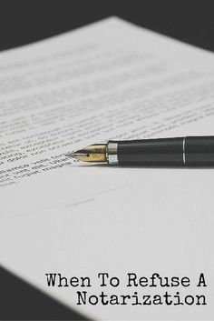 Most of the time Notaries perform notarial services for customers because the requests are legal and there is no legitimate basis for refusing the request. Save My Money, How To Make Money, Notary Classes, Notary Service, Mobile Notary, Notary Public, Work From Home Tips, Making Ideas, Business Ideas