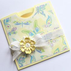 Giving a CD as a favor? Use this template to make an envelope. Just choose paper and card stock to match your theme.