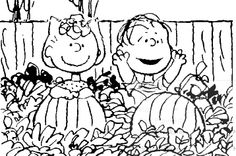 linus great pumpkin coloring pages - photo#13