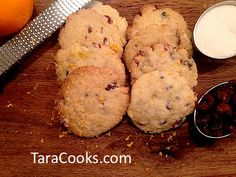Cranberry Orange Cookies Cranberry Orange Cookies, Dessert Recipes, Desserts, Sugar Cookies, Cooking, Christmas, Food, Baking Center, Natal